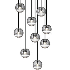 Flask 9 Light Multi-Pendant