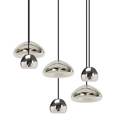Void Mini and Wide 6 Light Multi-Pendant