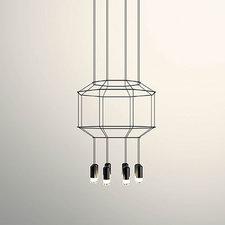 Wireflow Octagonal Pendant