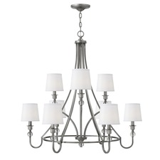 Morgan Two Tier Chandelier
