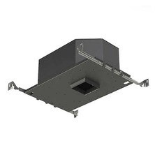 3 IN Square Flangeless LED 25Deg Adjustable IC Housing