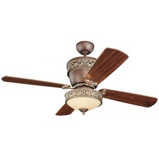 Villager Ceiling Fan with Light