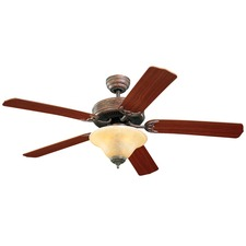 Homeowners Deluxe Ceiling Fan with Light