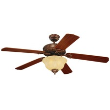 Ornate Elite Ceiling Fan with Light