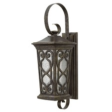 Enzo Outdoor Hook Arm Wall Light