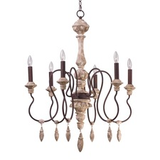 Olde World Single Tier Chandelier