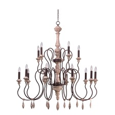 Olde World Two Tier Chandelier