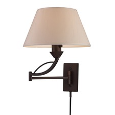 Elysburg 1 Light Swing Arm Wall Sconce