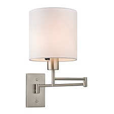 Carson 1 Light Swing Arm Wall Sconce