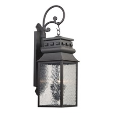 Forged Lancaster Outdoor Wall Sconce
