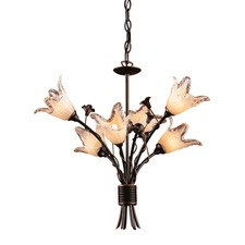 Fioritura 6 Light Chandelier
