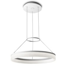 Circ Single Tier Round Pendant