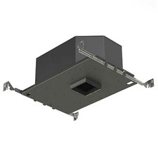 3 IN Square Flanged LED 15Deg Non-IC Adjustable Housing