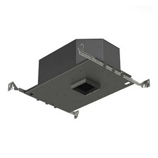3 IN Square Flanged LED 25Deg Non-IC Adjustable Housing