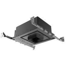 3 IN Square Flangeless LED 15Deg Non-IC Adjustable Housing