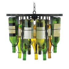 Traditional Parisian Bottle Chandelier