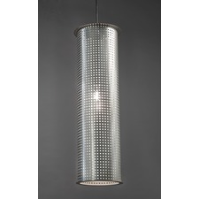 Clarus Round Exposed Square Cutout Pendant