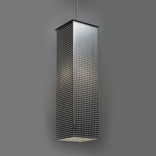 Clarus Long LED Square Shade Square Cutout Pendant