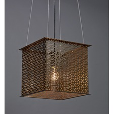 Clarus Square Exposed Geometric Cutout Pendant
