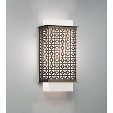 Clarus Squared Geometric Cutout Wall Light