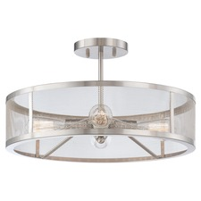 Downtown Edison Ceiling Semi Flush Mount