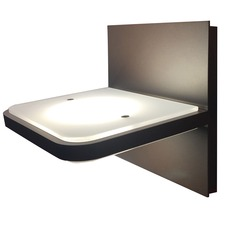 Wega Square 1 Light Bathroom Vanity Light