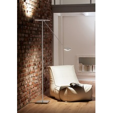 Platz LED Torchiere with Reading Arm