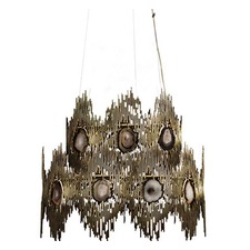 Vivre Two Rings Chandelier