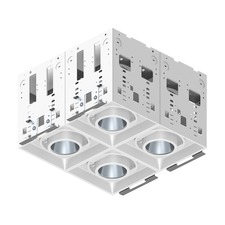 Modul Aim 4-Lt Square ELV Non-IC Remodel 45Deg
