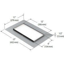 Modul Aim 2-Light Trimless Mesh Plate
