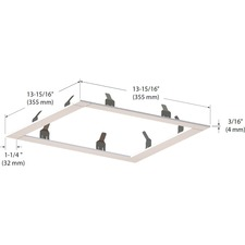 Modul Aim 4-Light Square Trim