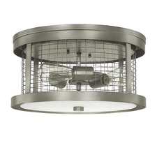 Davis 3 Light Outdoor Ceiling Mount