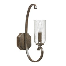 Harrison Seeded Glass Wall Sconce
