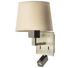 Bali Wall Sconce with Reading Light