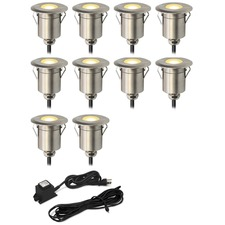 Round Step Light Kit 10 Lights