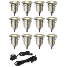 Round Step Light Kit 12 Lights