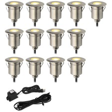 Round Step Light Kit 13 Lights