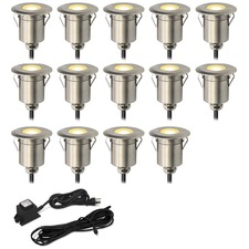 Round Step Light Kit 14 Lights