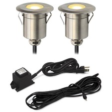 Round Step Light Kit 2 Lights