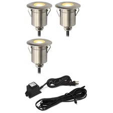 Round Step Light Kit 3 Lights