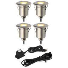 Round Step Light Kit 4 Lights