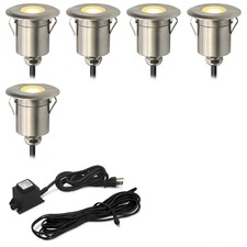 Round Step Light Kit 5 Lights