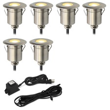 Round Step Light Kit 6 Lights