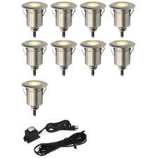 Round Step Light Kit 9 Lights