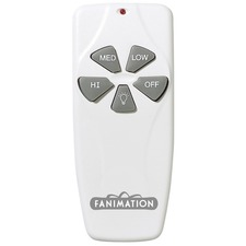 C4 Fan and Light Wireless Remote Control