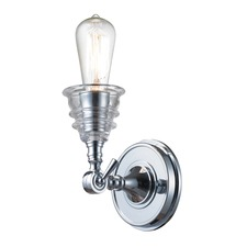 Insulator Glass 1 Light Wall Sconce