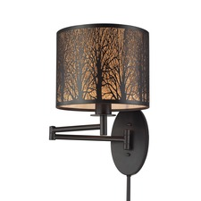 Woodland Sunrise Wall Sconce