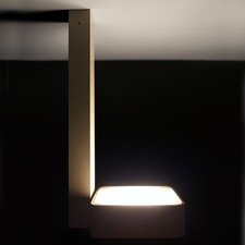 Aluled Square Single Ceiling Light