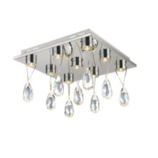 Bejeweled Ceiling Flush Mount