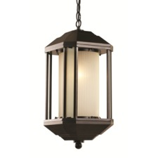 Downtown Trolley Outdoor Pendant